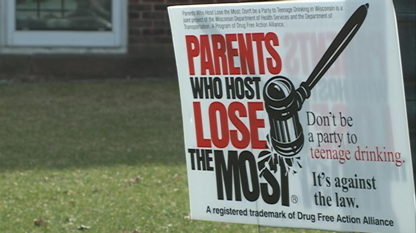 State-wide campaign highlights risks of hosting underage drinkers