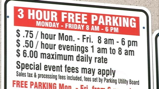 Parking fees starting to break the bank of store owners