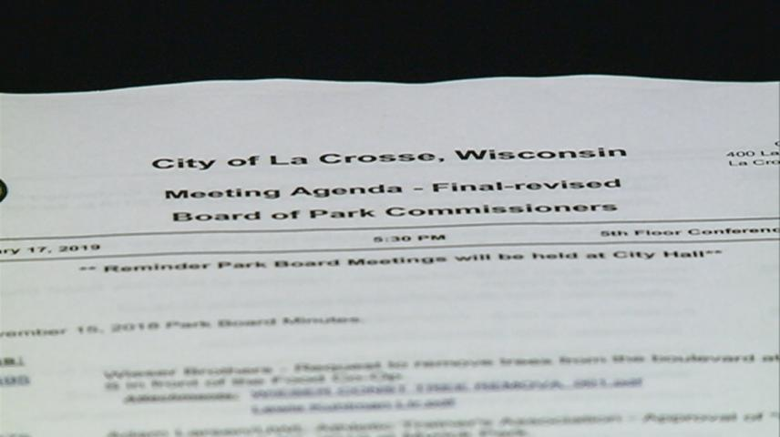 La Crosse Park Commissioners meeting discusses smoking ban and maintenance plan