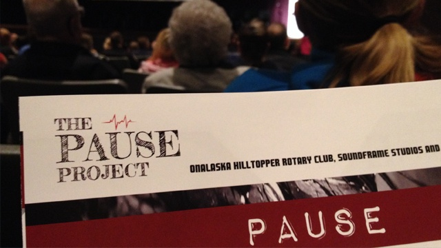 'Pause' movie premieres; Q & A after with cast, crew