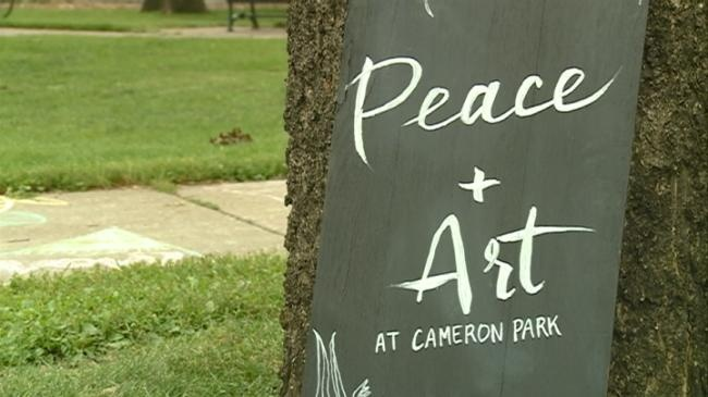 'Peace and Art' event makes community heard
