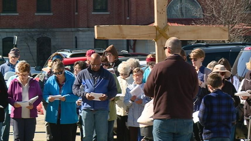 Peace and Justice walk held to celebrate Good Friday