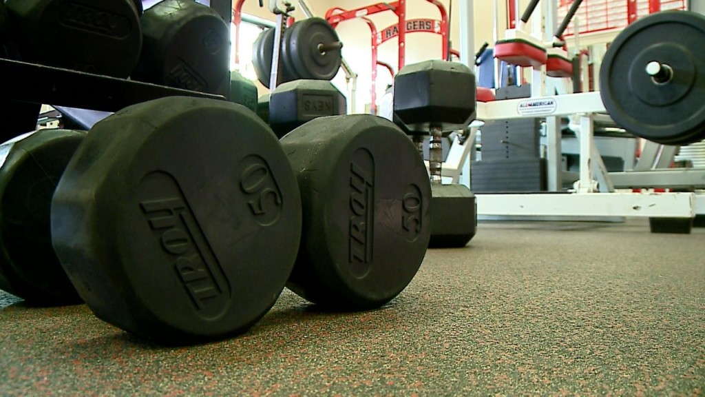 Logan High School weight room getting upgrade as part of $2,500 grant