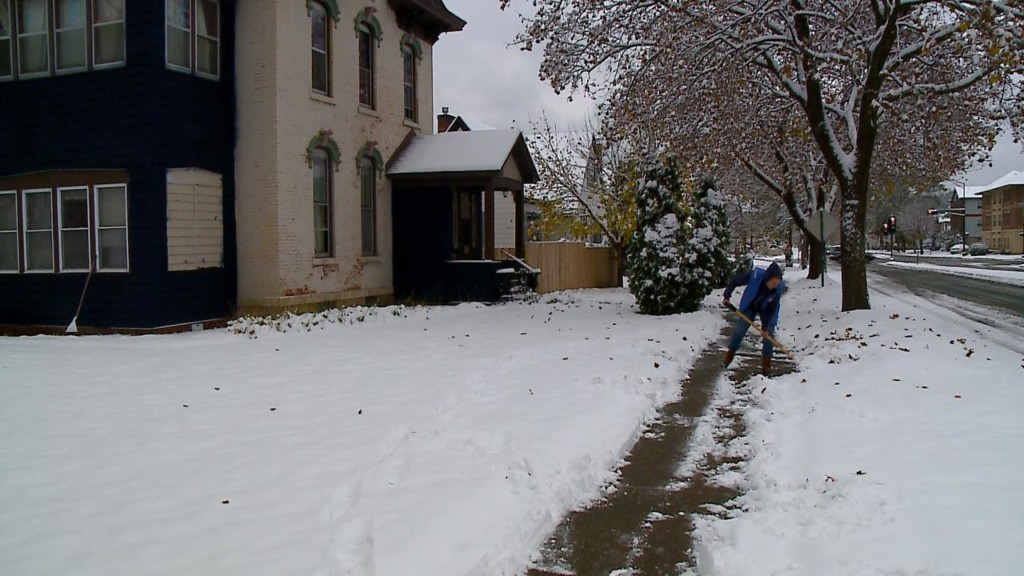 Cleaning up snow off your sidewalk in a timely manner is key to avoid extra fees