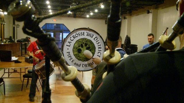 News 8 Eye Piece: Pipes and Drums