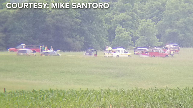 Four people are dead after a plane crash in Monroe, officials say