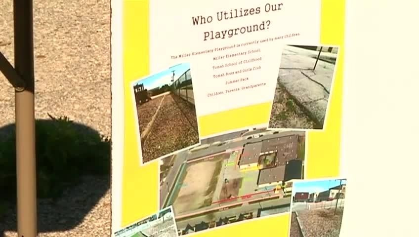 Donation helps to revitalize Tomah school playground