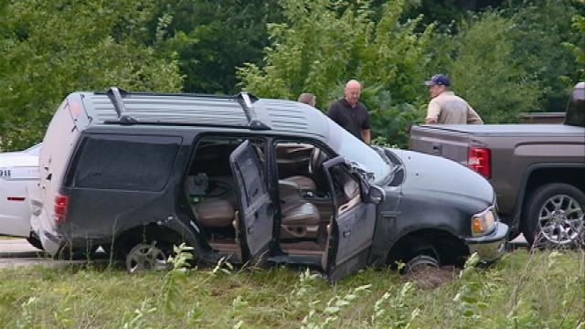 One person in custody after three-county, high-speed chase Sunday