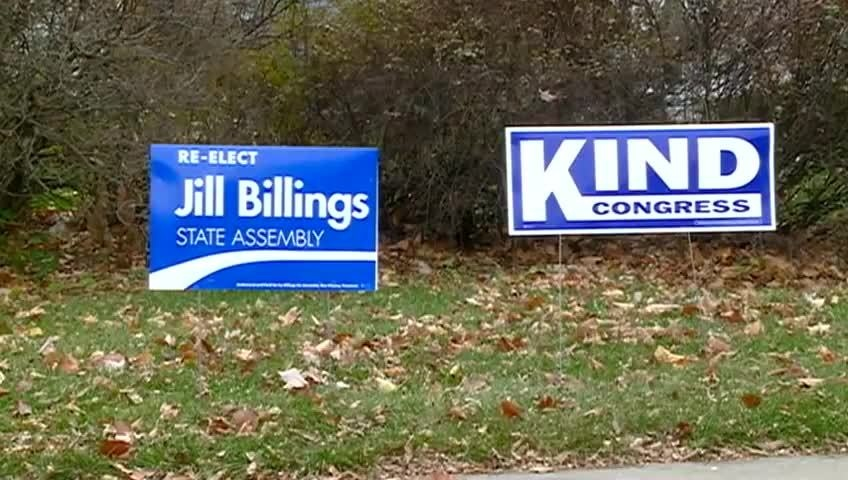Political signs need to be removed in La Crosse