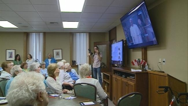 Sisters of Perpetual Adoration, Spirituality Center host Pope viewing party