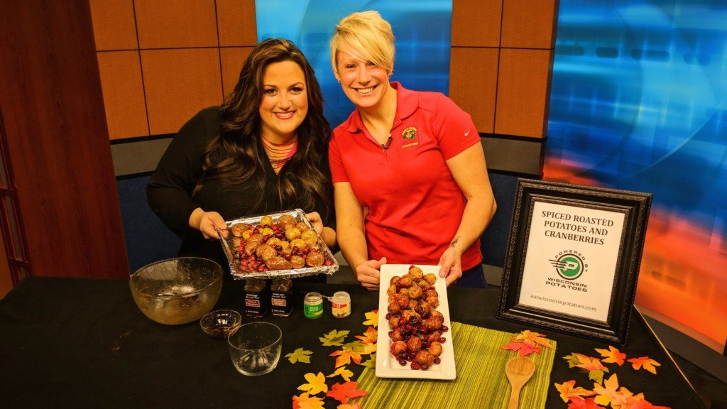 Cooking with N8TM: Spiced Roasted Potatoes and Cranberries