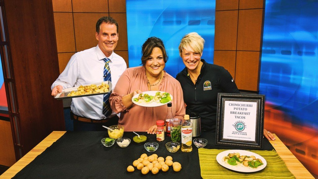Cooking With N8TM: Chimichurri Potato Breakfast Tacos