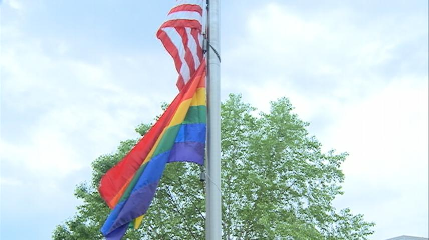 Pride flag raised at UW-La Crosse