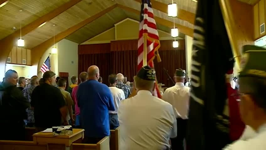 Prisoner of War, Missing in Action Day ceremony in Tomah