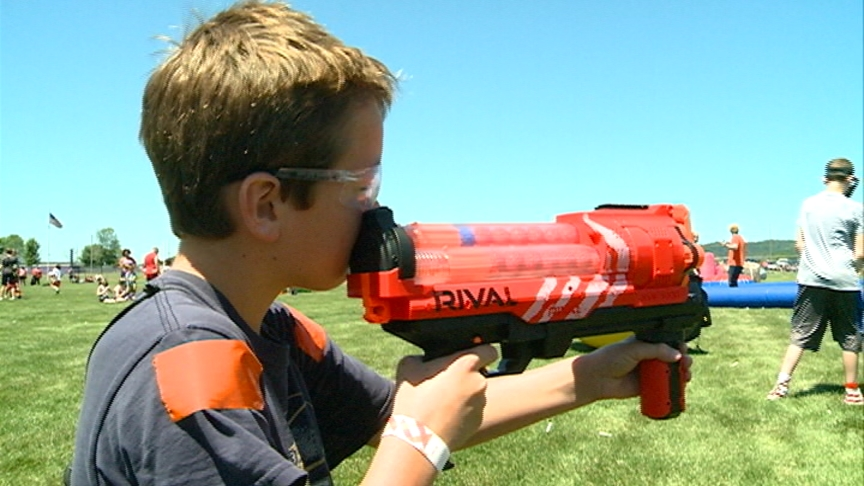 Project My Neighborhood hosts Nerf competition in Onalaska raising awareness about bullying