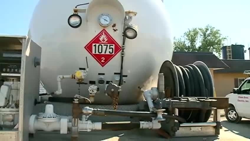 Propane preparations for coming winter