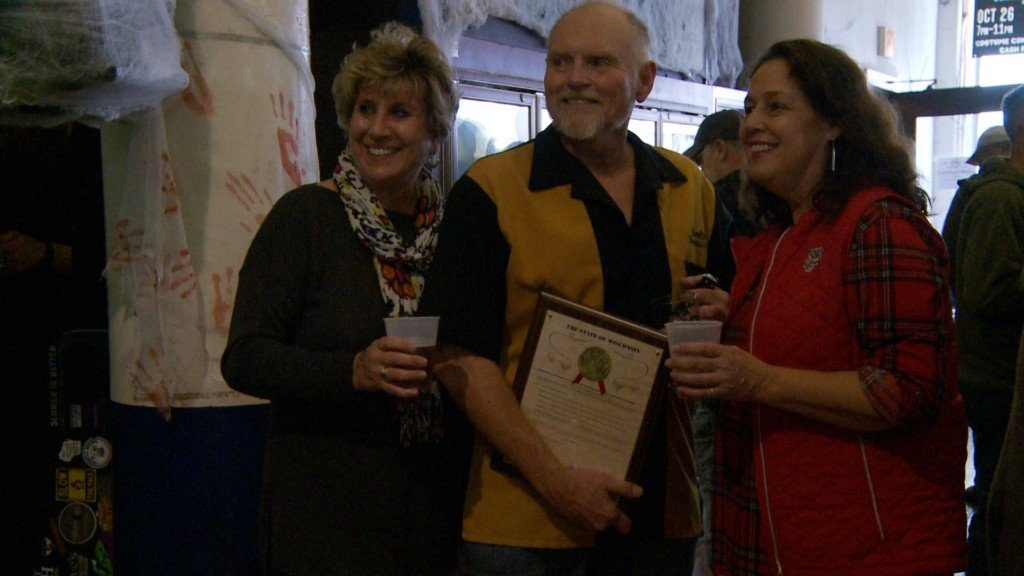 Former City Brewery brewmaster honored in La Crosse