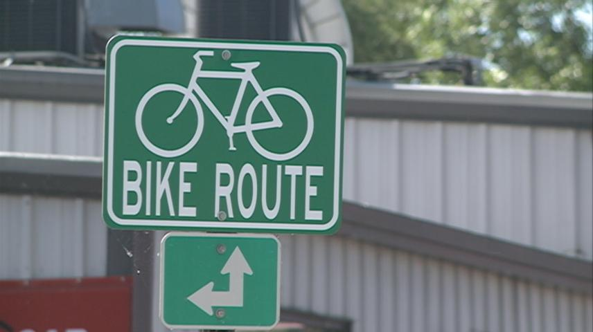 La Crosse's Monitor Street being re-marked to include bike lanes