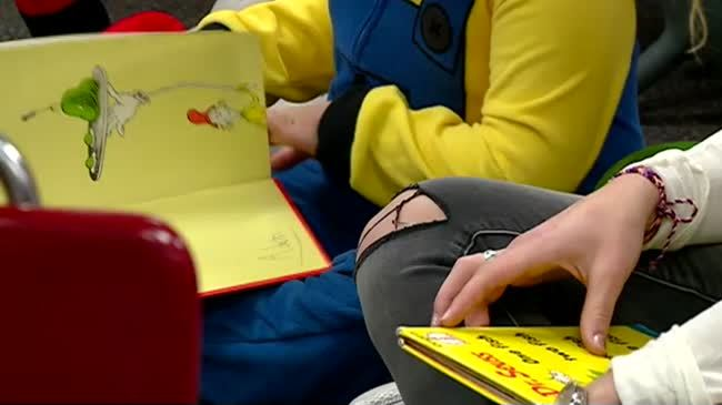 La Crosse students hold all-day read-a-thon to help others