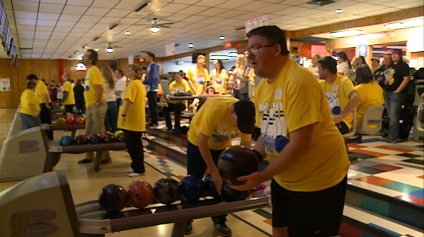 Special Olympics hosts bowling tournament