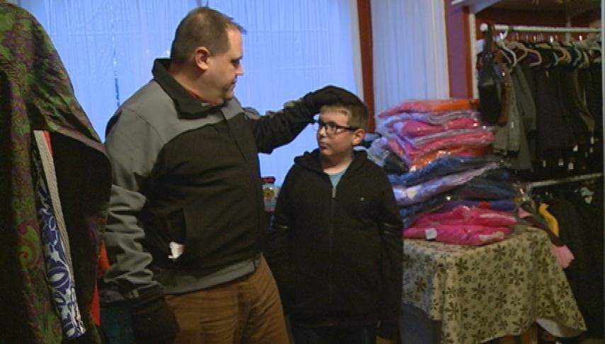 Sparta boy collects winter clothing for those in need