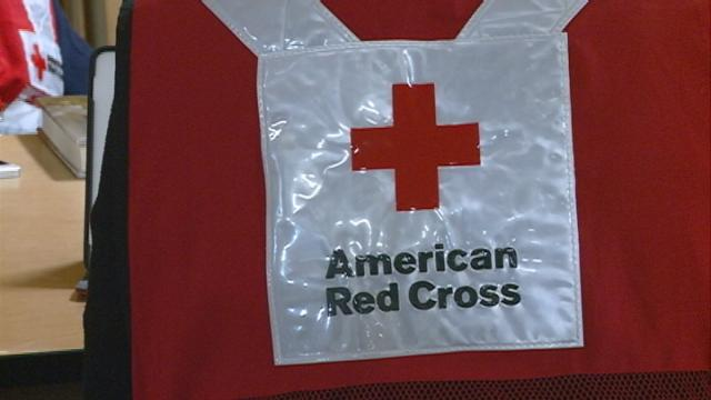 Red Cross giving away flood clean-up kits in Arcadia and other areas