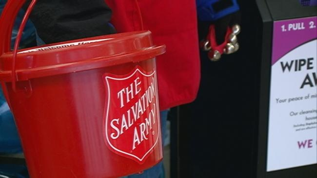 Third Match Day for Salvation Army's Red Kettle Campaign