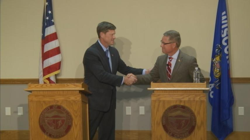 Candidates for WI 3rd Congressional District debate the issues at UW-La Crosse