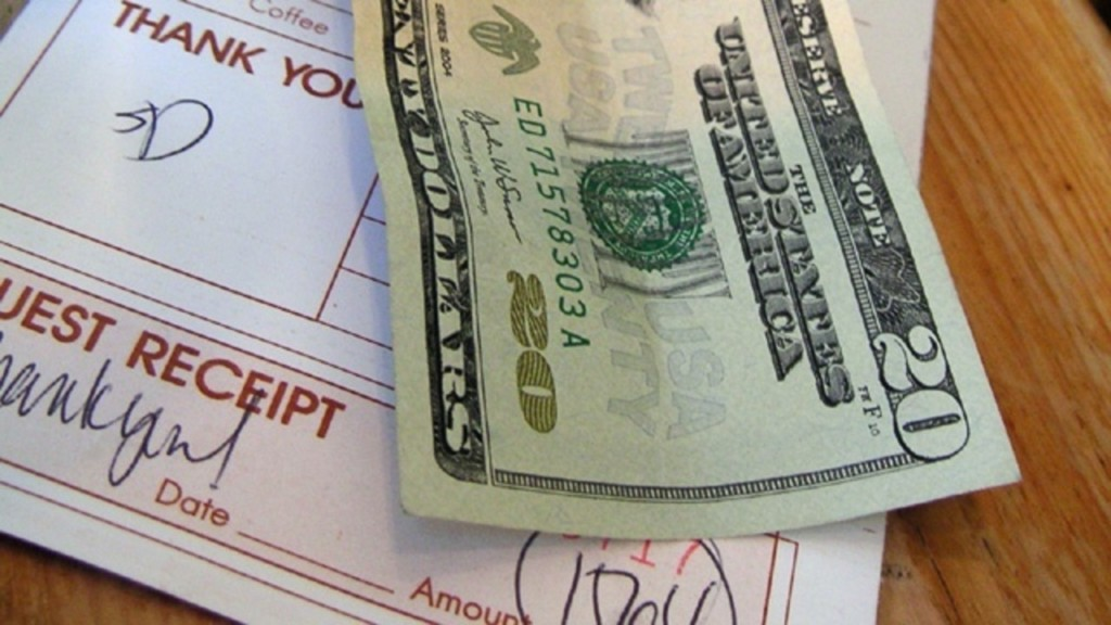 Bill proposed to make tips tax-free