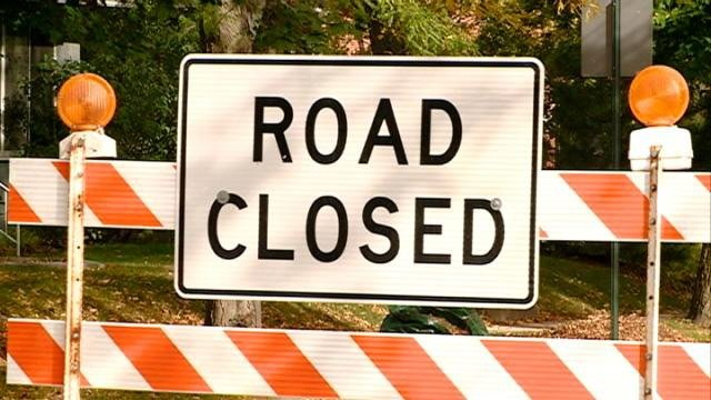 Winona street closures