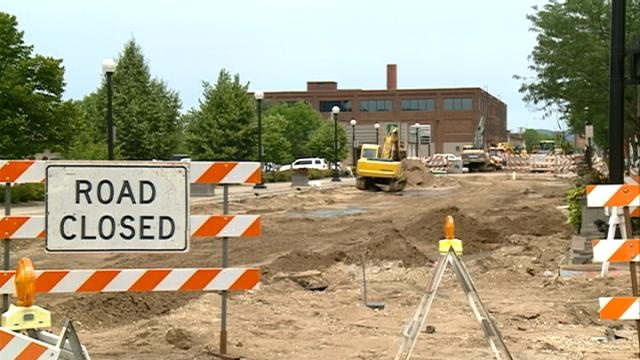 Road work causes problems for Riverfest attendees
