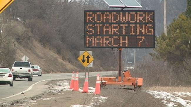 Hwy 16 tree removal first step in future construction project