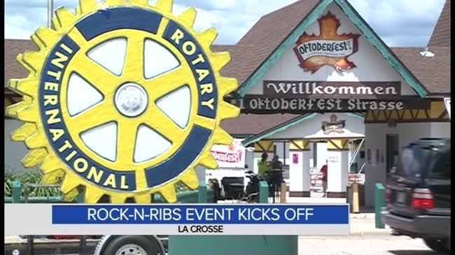 Rotary racks up the ribs with annual 'Rock-n-Ribs' event