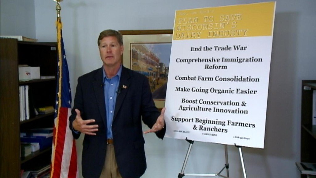 Rep. Kind unveils plan to help dairy farmers