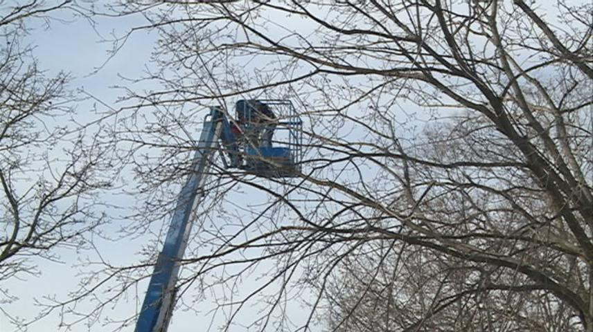 Rotary Lights tear-down marks the end of the holiday season for La Crosse