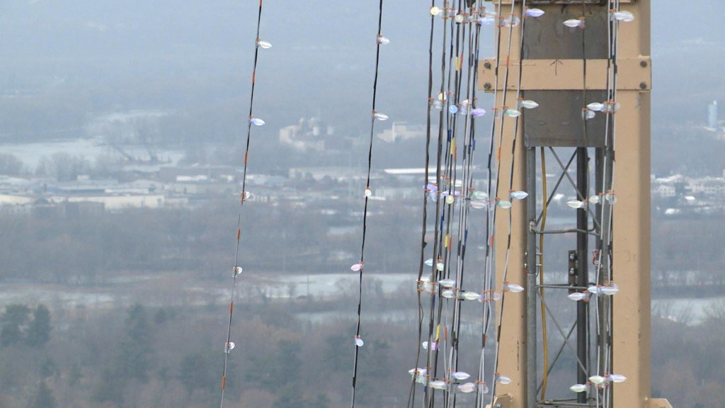 Rotary Club lighting up Grandad Bluff for the holidays