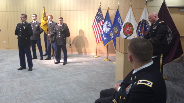 Change of command for UW-La Crosse's ROTC