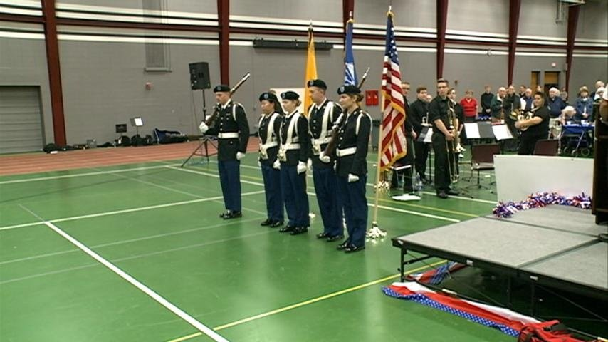 ROTC honors local vets on Veterans Day