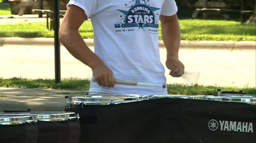 'Running with the Stars' benefits local drum and bugle corps