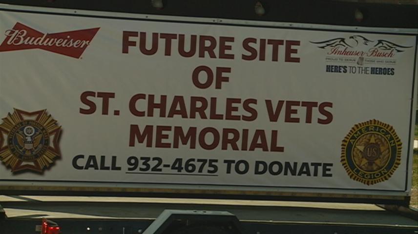 Ground is broken for new veterans memorial in St. Charles