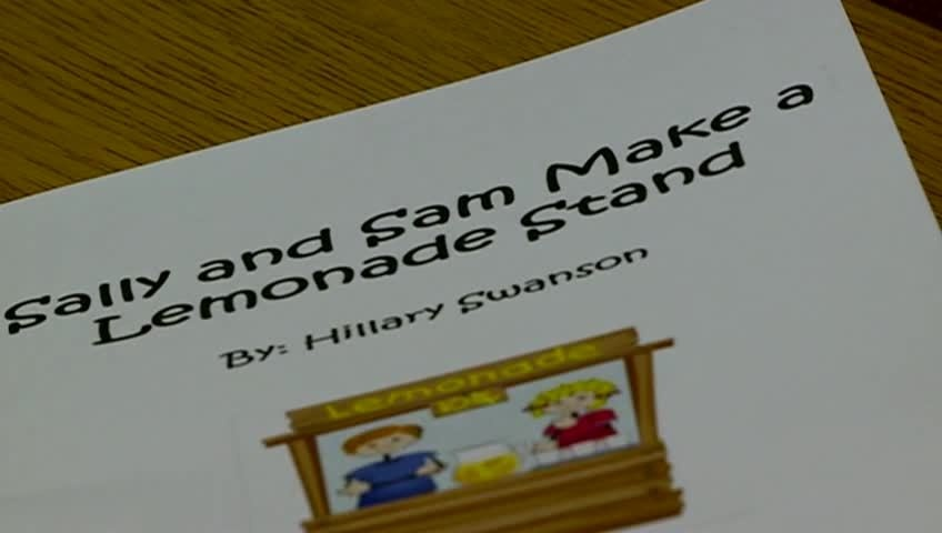 Area student writes children's book to teach business terms