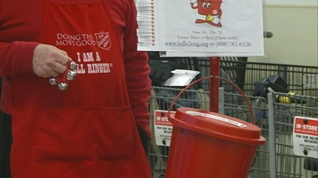 Registration opens for Salvation Army bell ringers