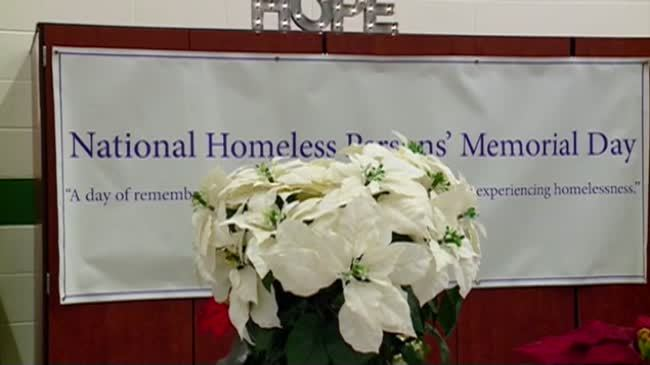 Salvation Army holds homeless memorial service