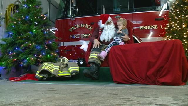 Winona first responders get fundraising help from Santa Claus