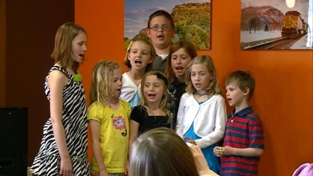 Students put on musical Save the Library event