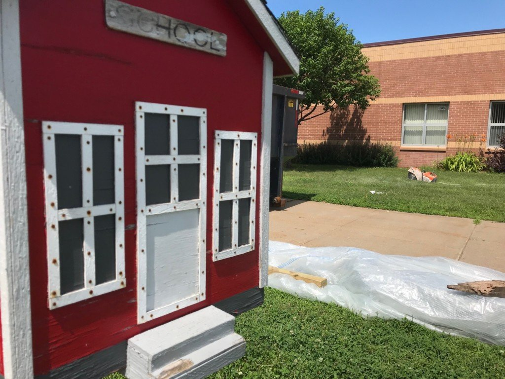 Two elementary schools undergoing renovations to improve safety
