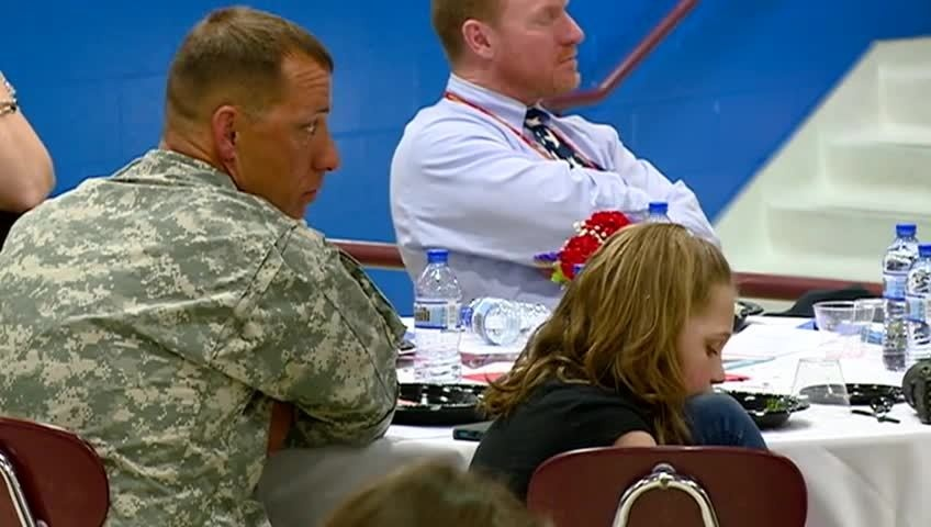 Sparta School District recognizes needs of children of military families