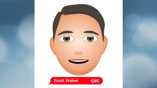 New emoji depicts Gov. Walker