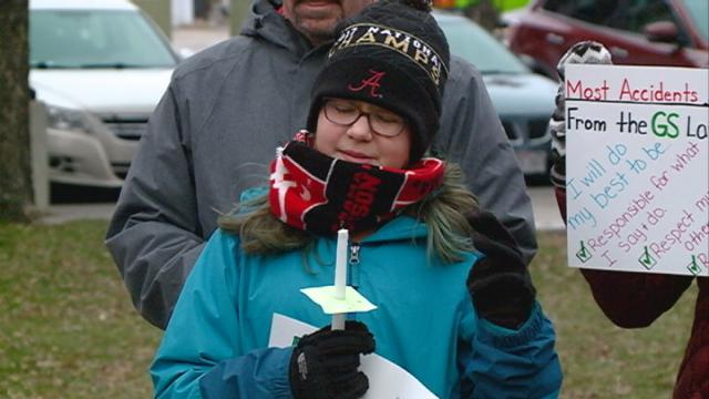 Local Girls Scouts vigil honors Chippewa Falls Scouts who died
