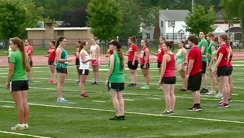 UW-La Crosse's Screaming Eagle Marching Band begins practices